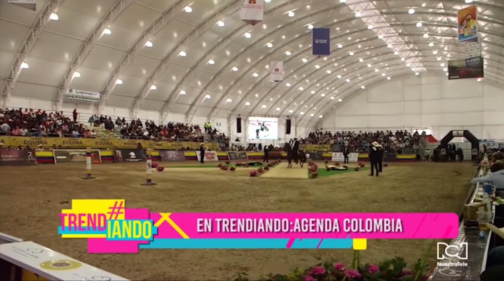 Agenda Colombia en Trendiando