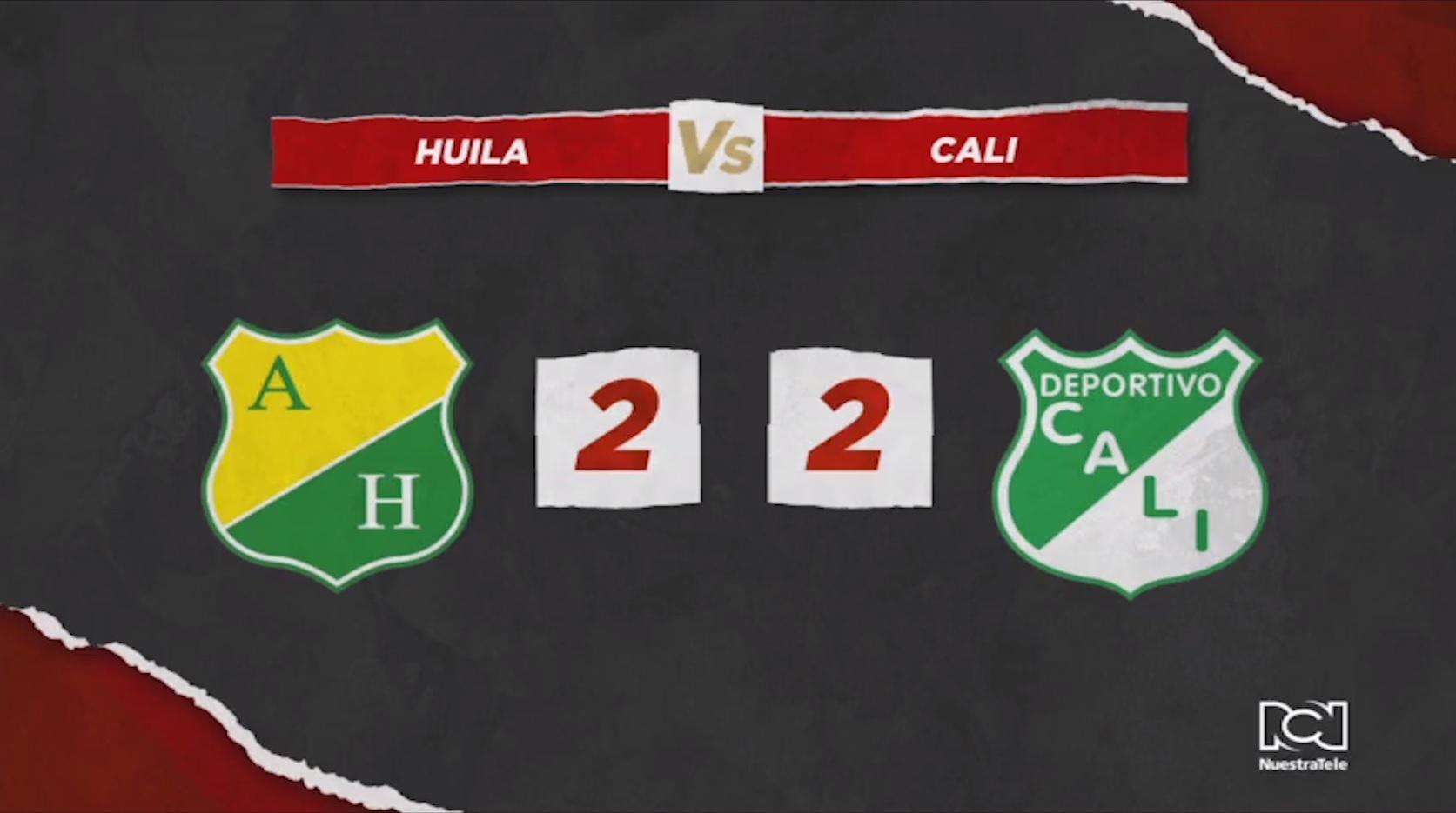 Huila Vs Deportivo Cali