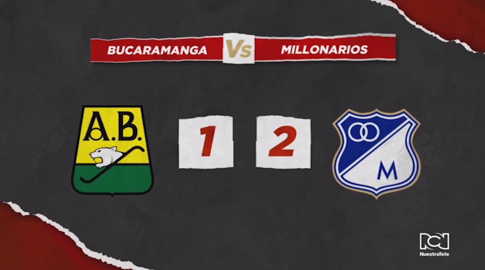Millonarios Vs Bucaramanga