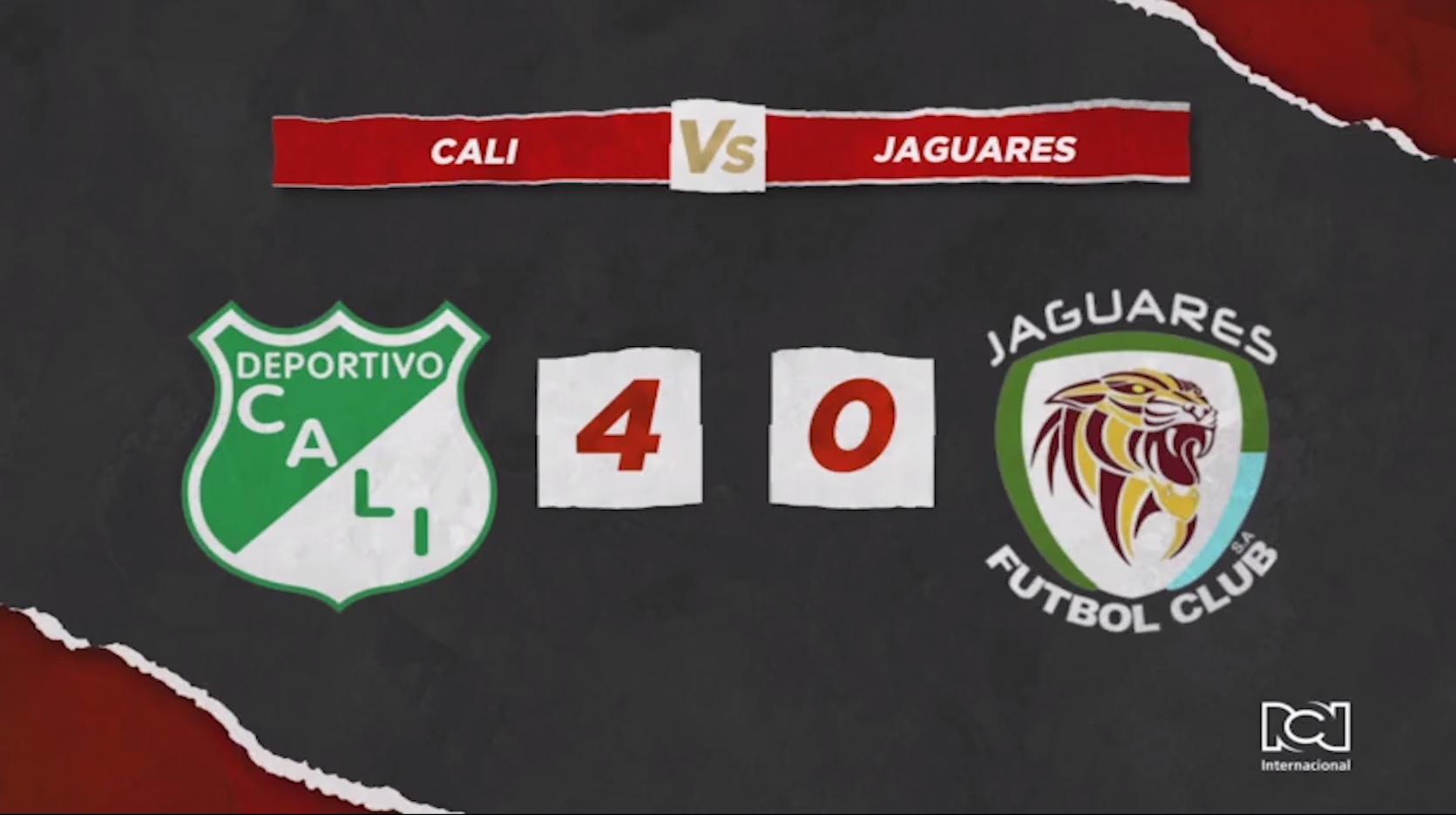 Deportivo Cali Vs Jaguares