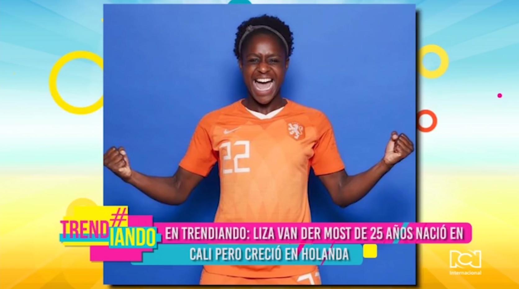 Colombiana de Holanda Liza Van Der Most