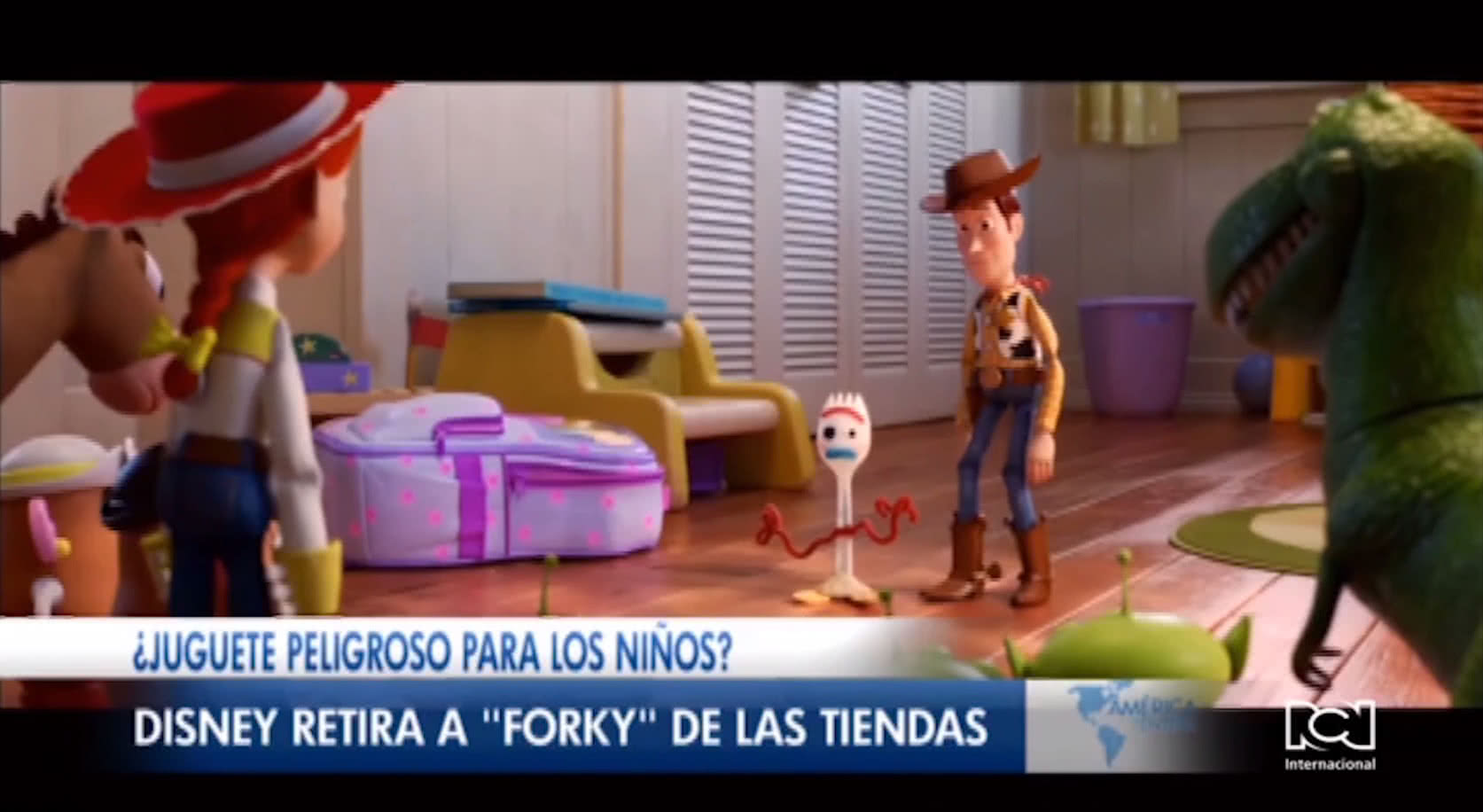 Disney retira del mercado a 'Forky'