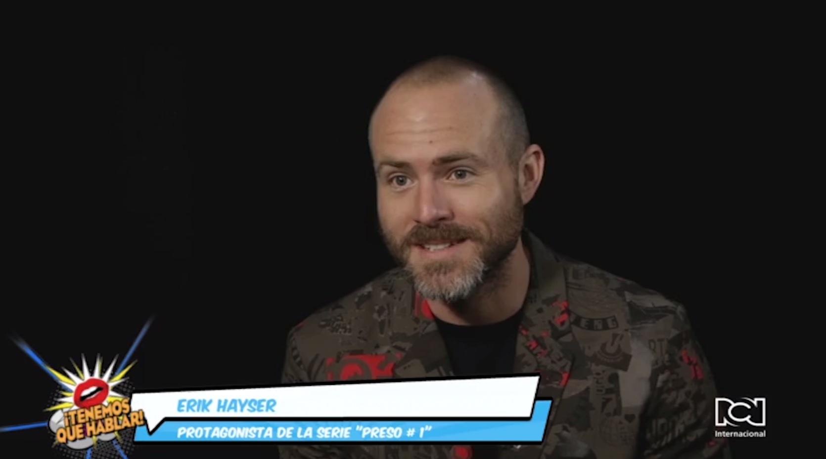 Erik Hayser será el protagonista de 'Preso 1'