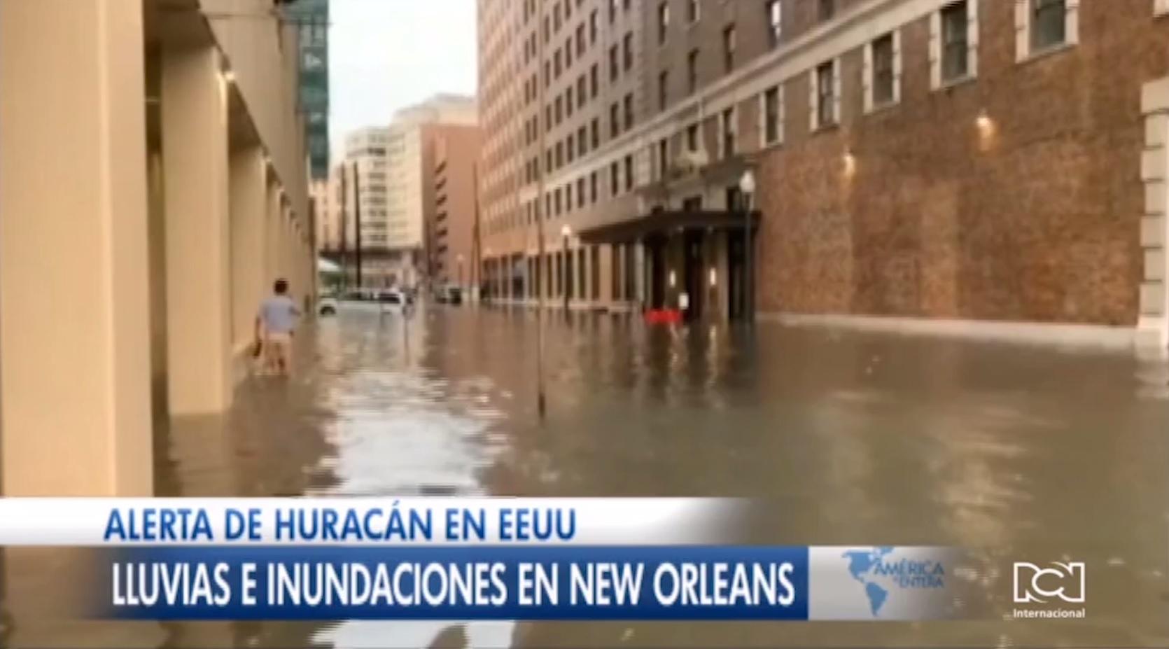 Estado de emergencia en Nueva Orleans