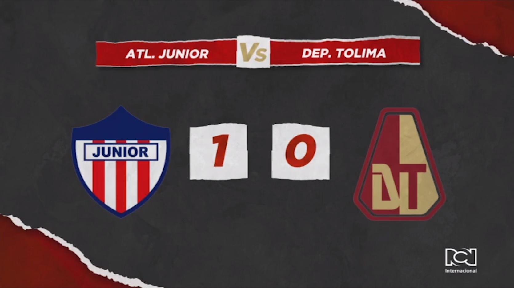 Junior contra Tolima