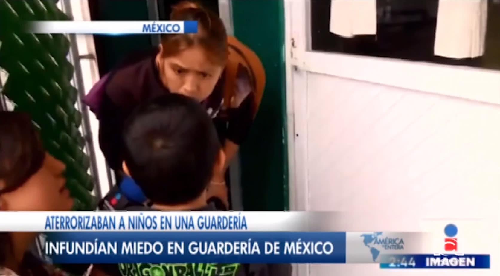 Maestras asustan a los niños en México