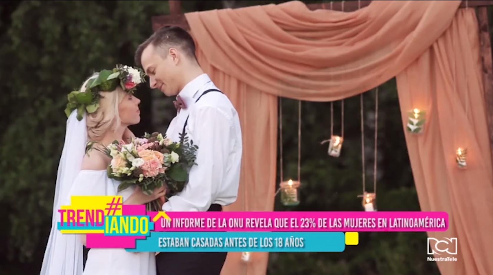 Matrimonio juvenil en Latinoamerica y el Caribe