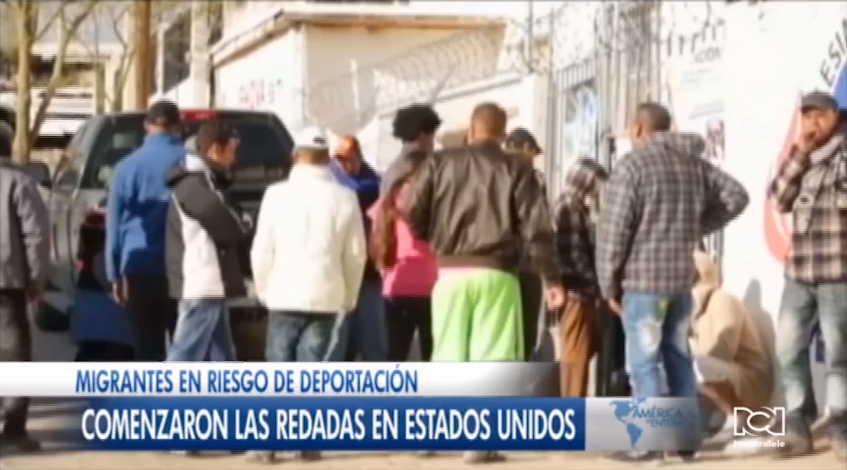 Mexicanos en riesgo de las redadas