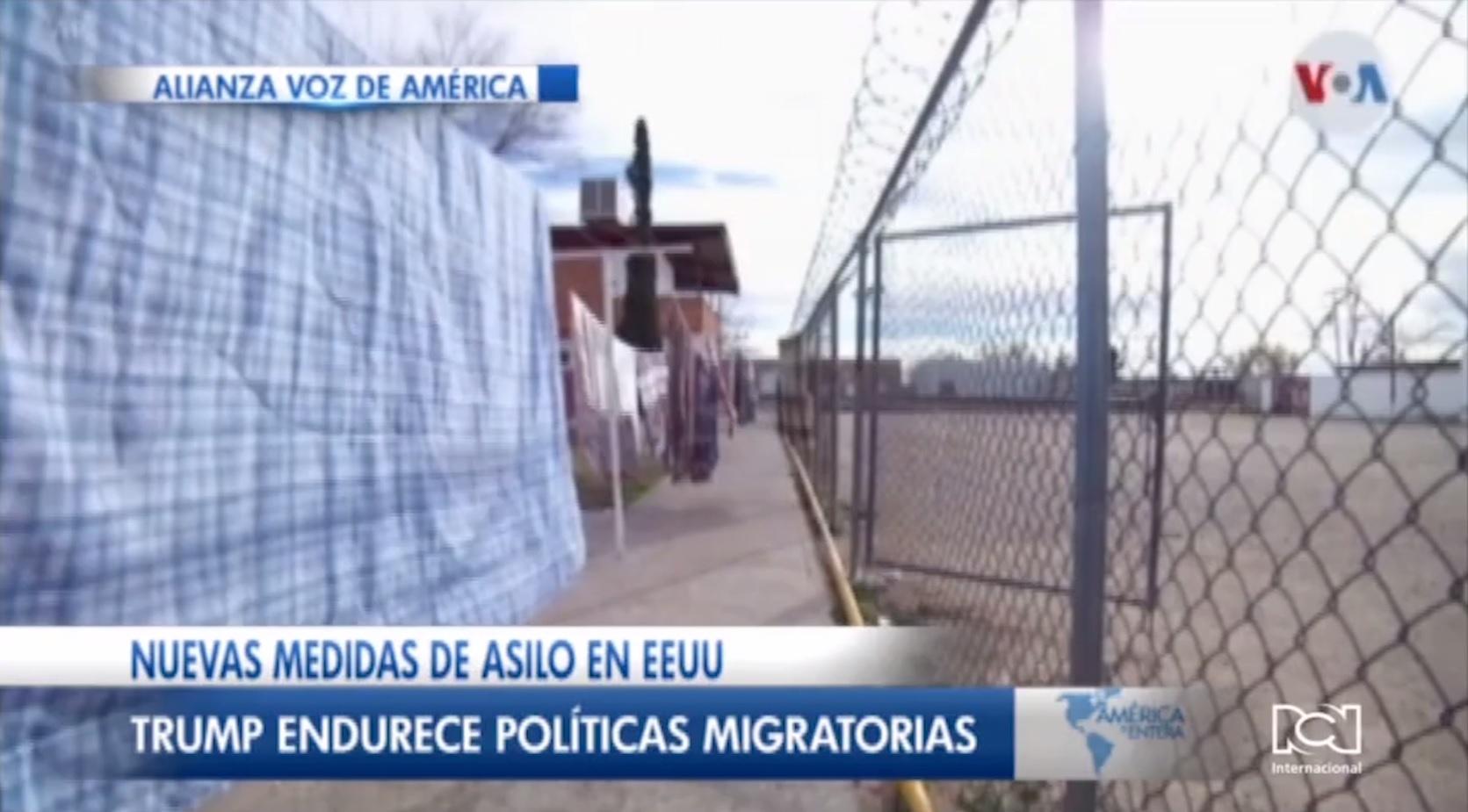 Solicitudes de asilo en EE. UU.
