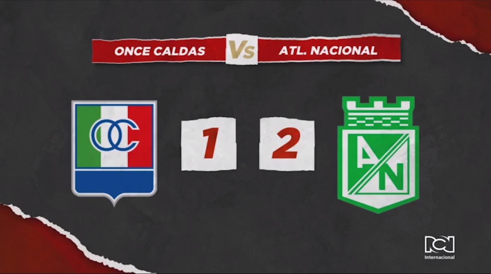 Once Caldas Vs Atlético Nacional