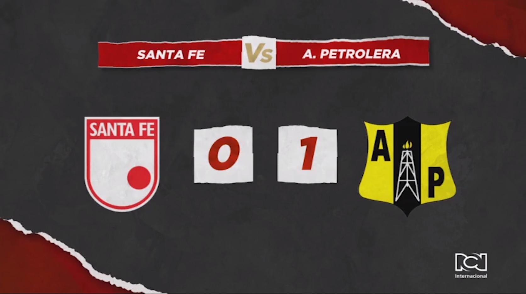 Santa Fe Vs Alianza Petrolera