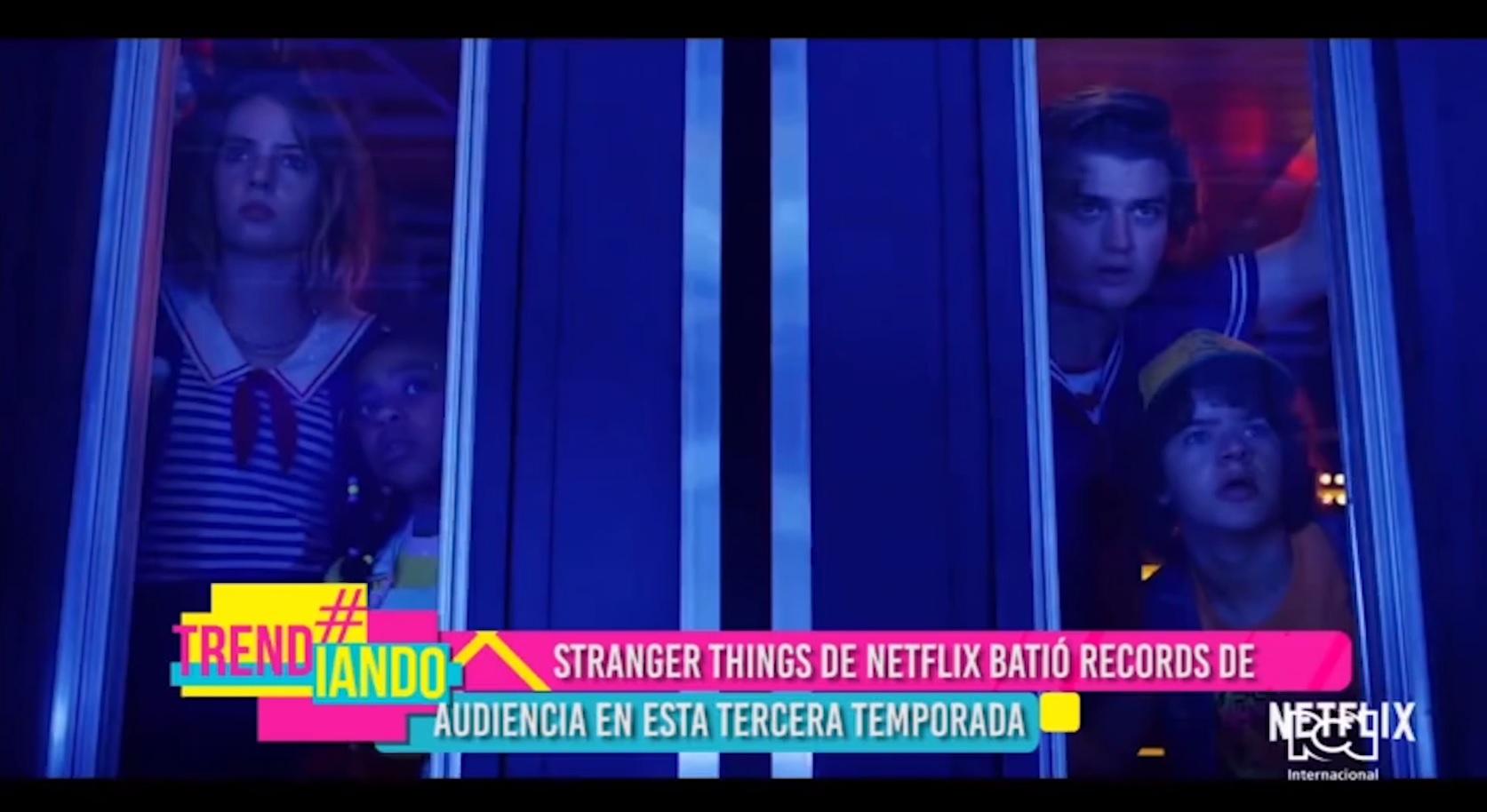 Stranger Things rompe récord de audiencia en Netflix