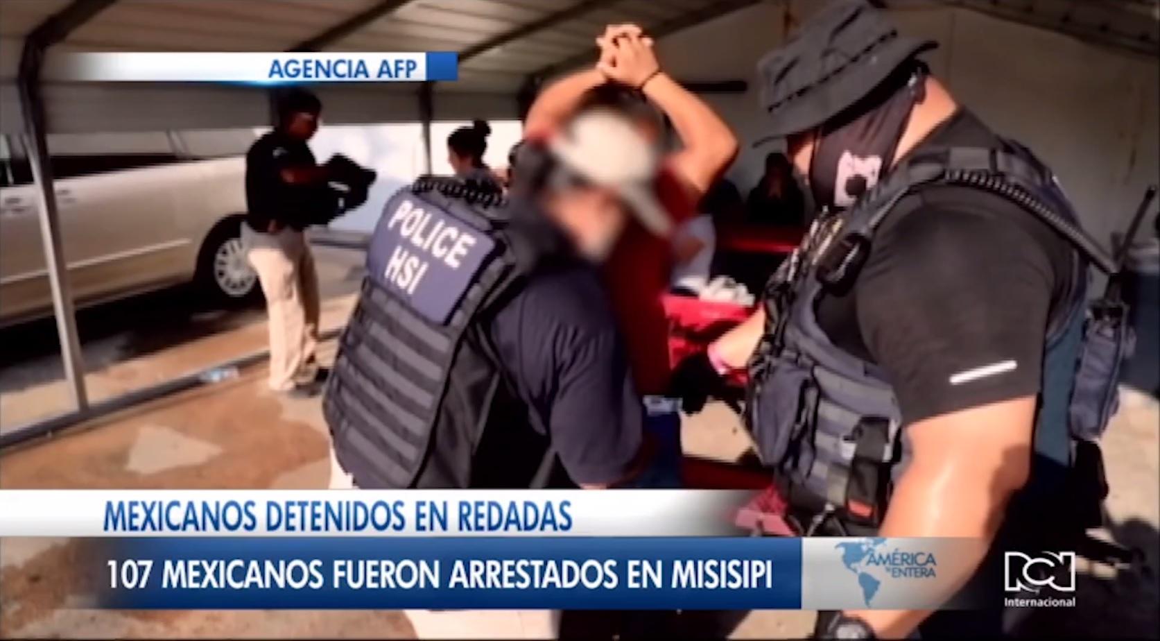 México ofrecerá ayuda consular a los connacionales detenidos durante las redadas en EEUU