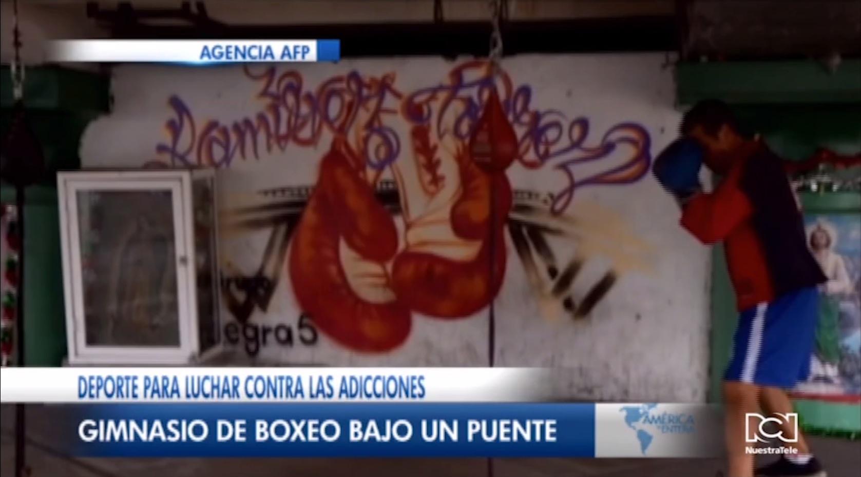 Boxeo como repelente contra la delincuencia