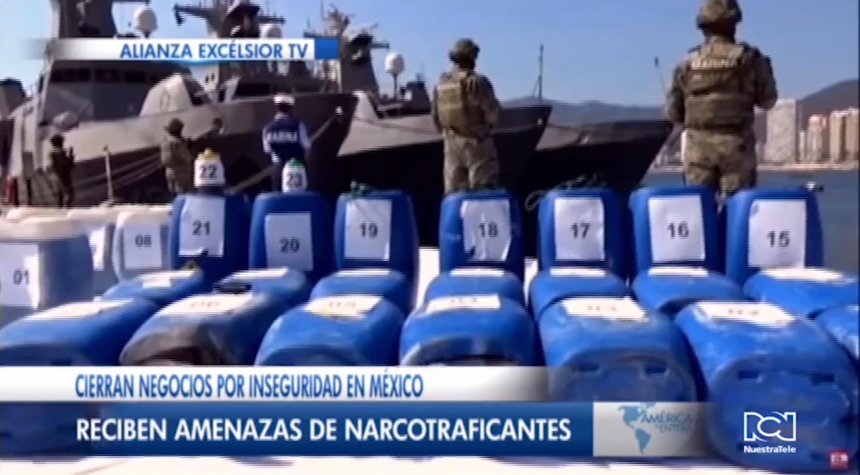 Cierran negocios por inseguridad en México