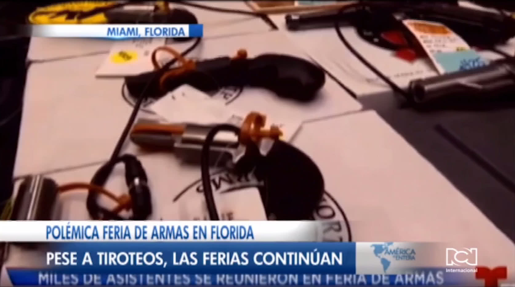 Aumenta el número de compradores primerizos de armas en Florida
