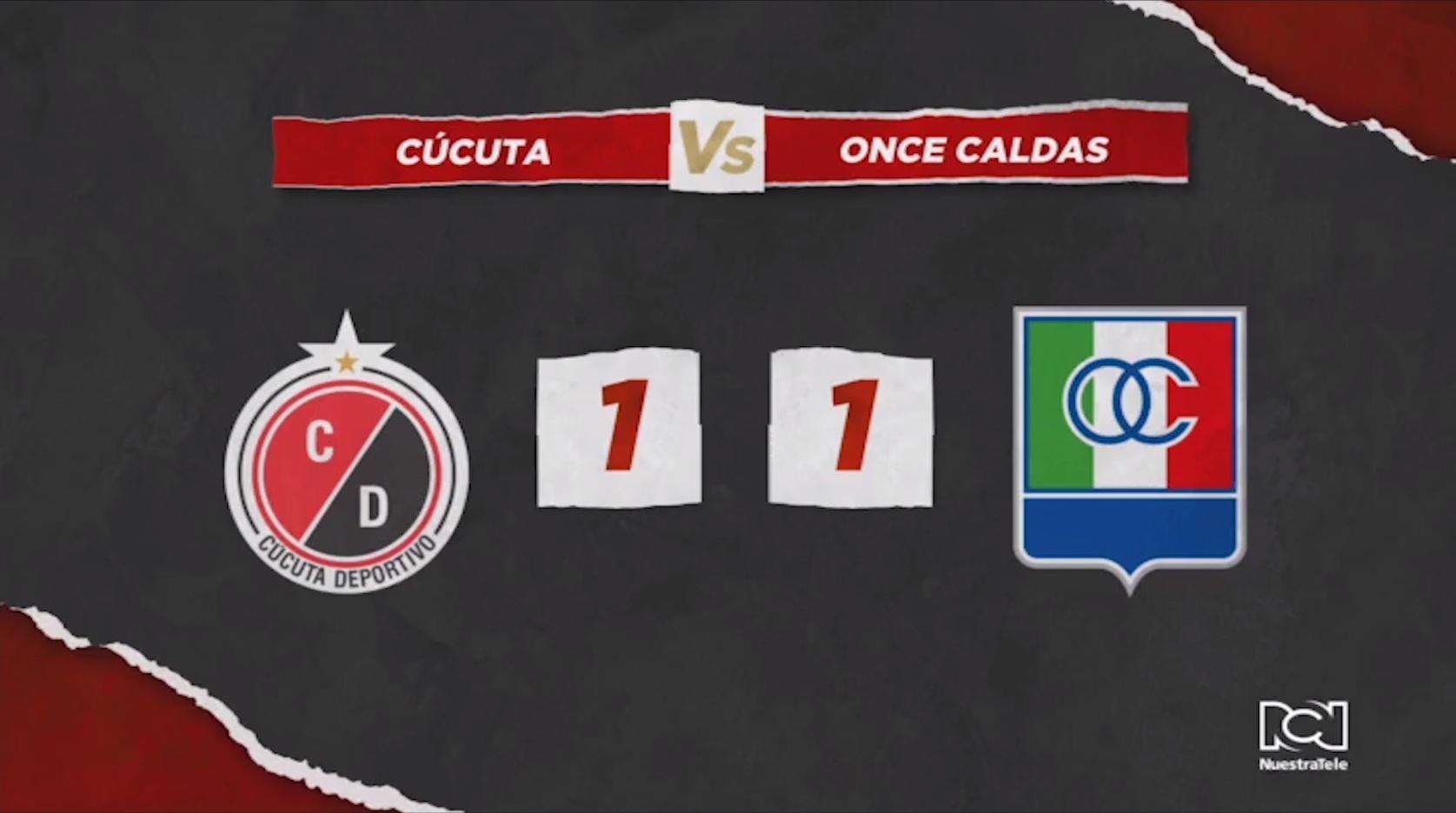 Cúcuta Deportivo Vs Once Caldas