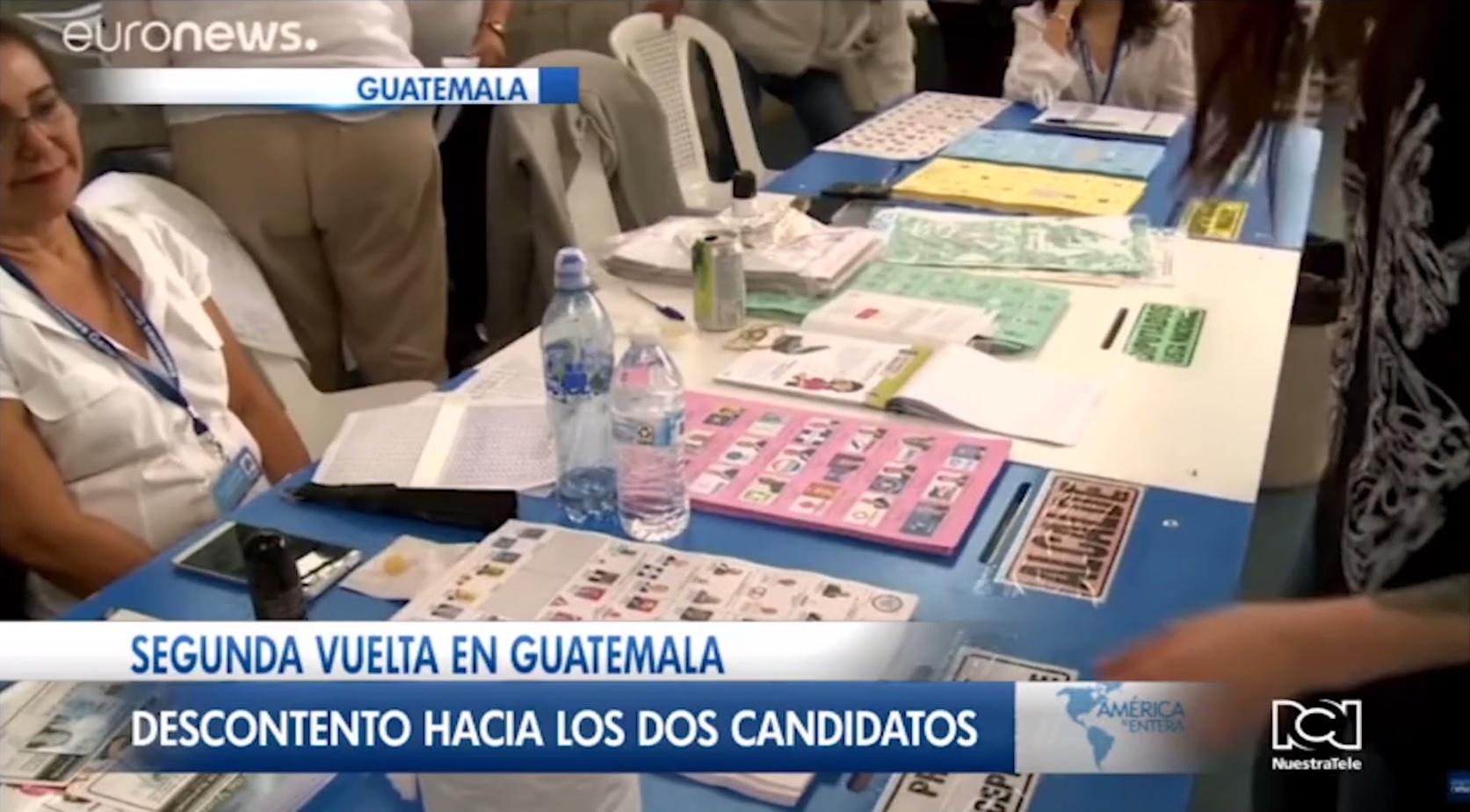 Guatemaltecos elegirán al sucesor de Jimmy Morales