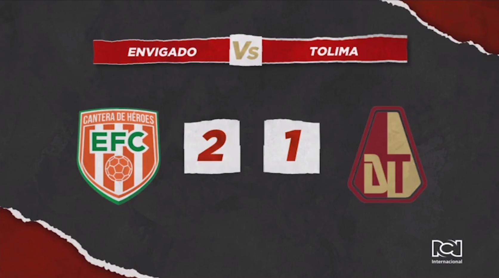 Envigado Vs Deportes Tolima