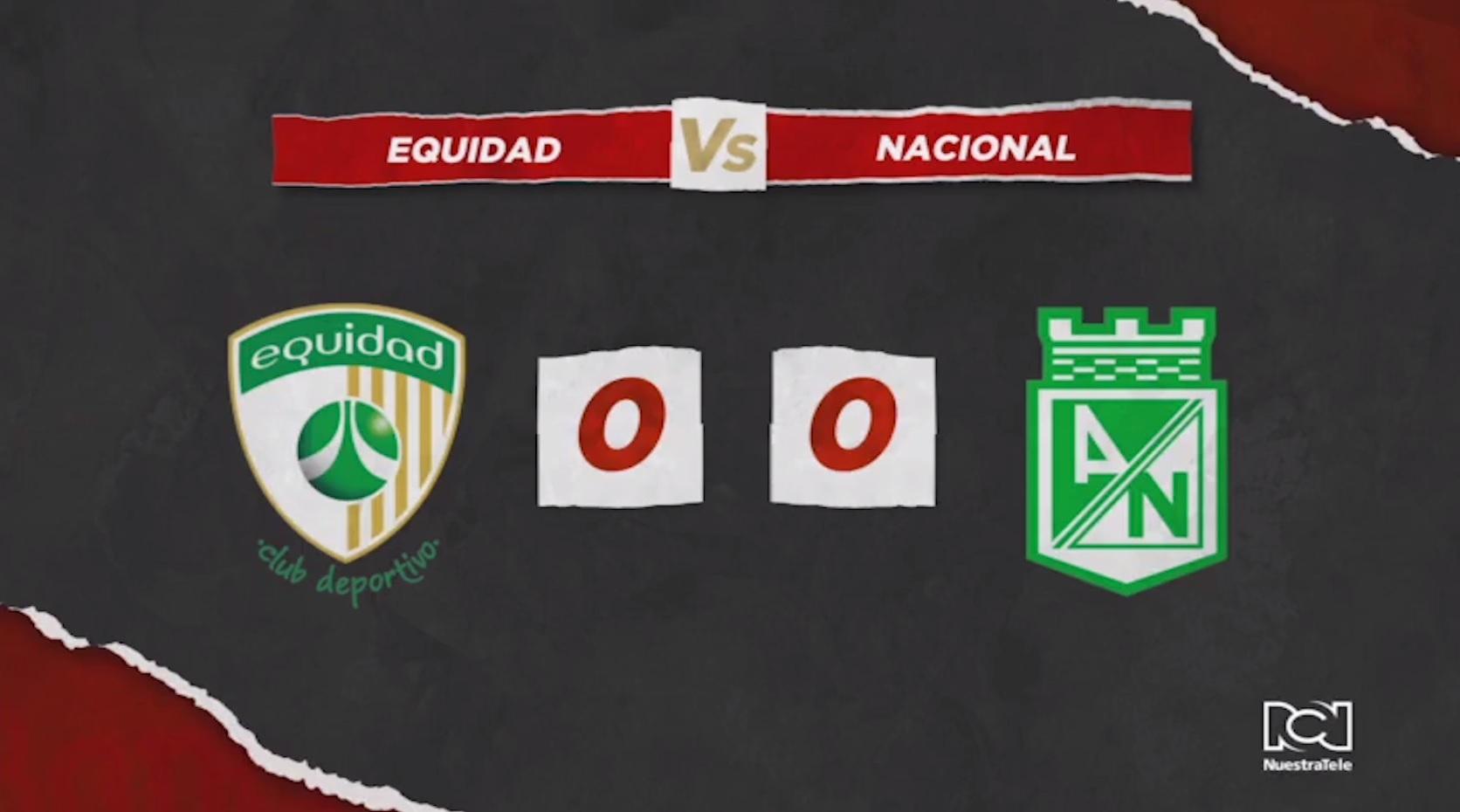 La Equidad Vs Atlético Nacional