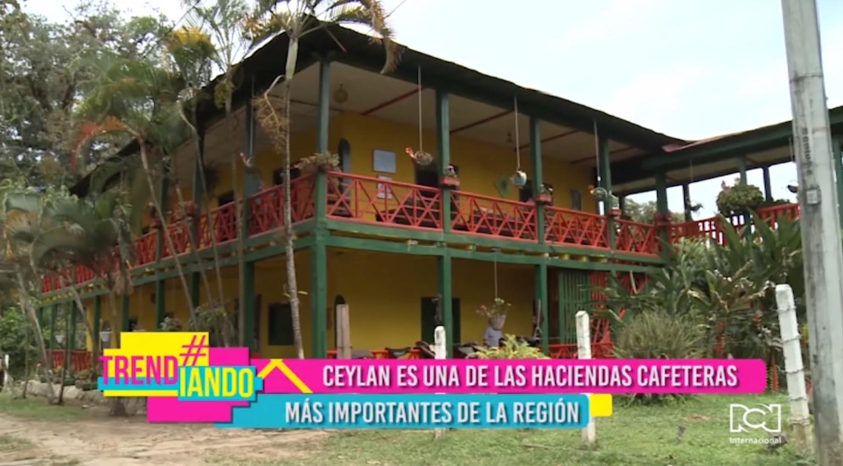 Historia del café colombiano en la hacienda Ceylan de Viotá