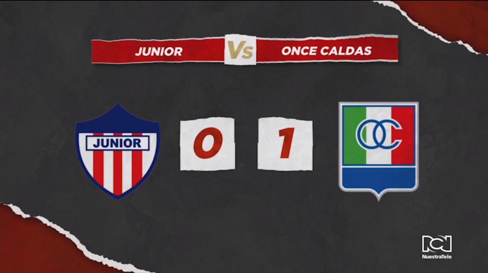 Junior Vs Once Caldas