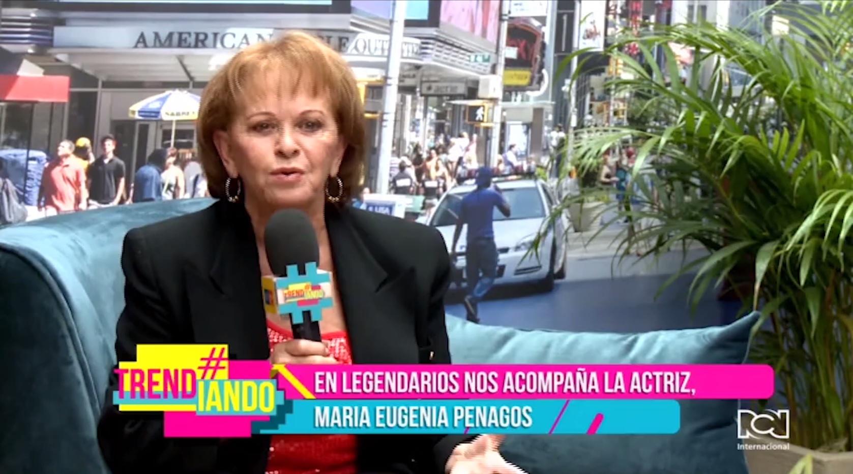 María Eugenia Penagos en 'Legendarios' de Trendiando