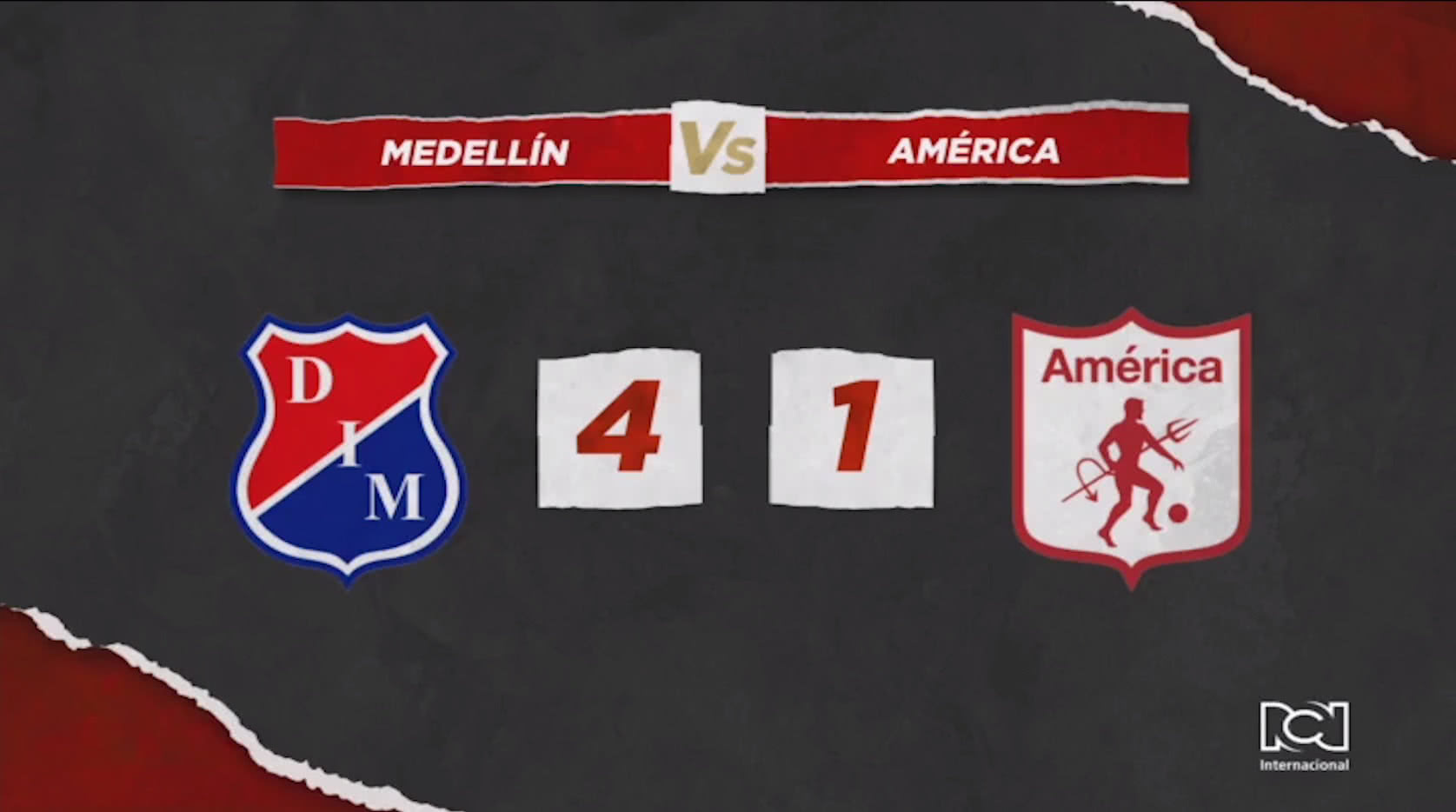 Independiente Medellin Vs América de Cali