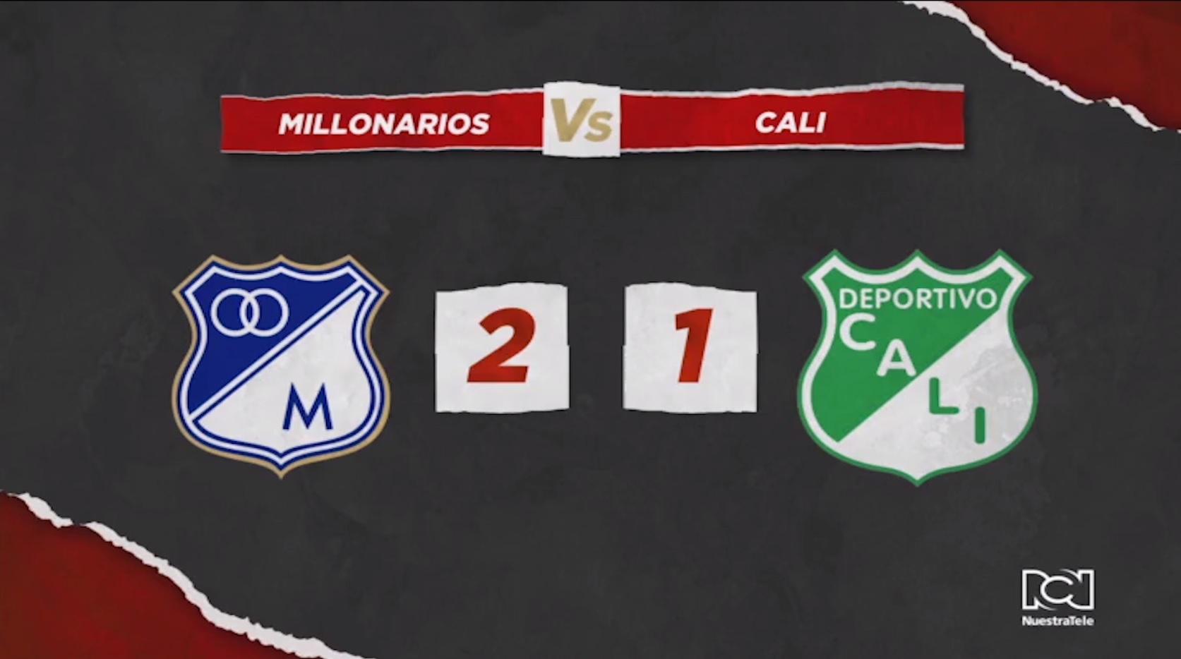 Millonarios Vs Deportivo Cali