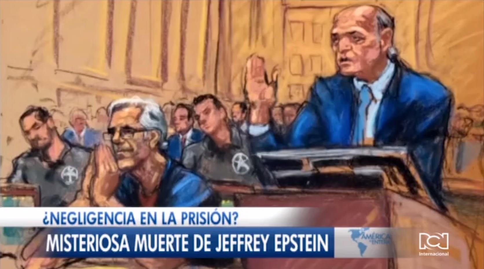 Misteriosa muerte de Jeffrey Epstein
