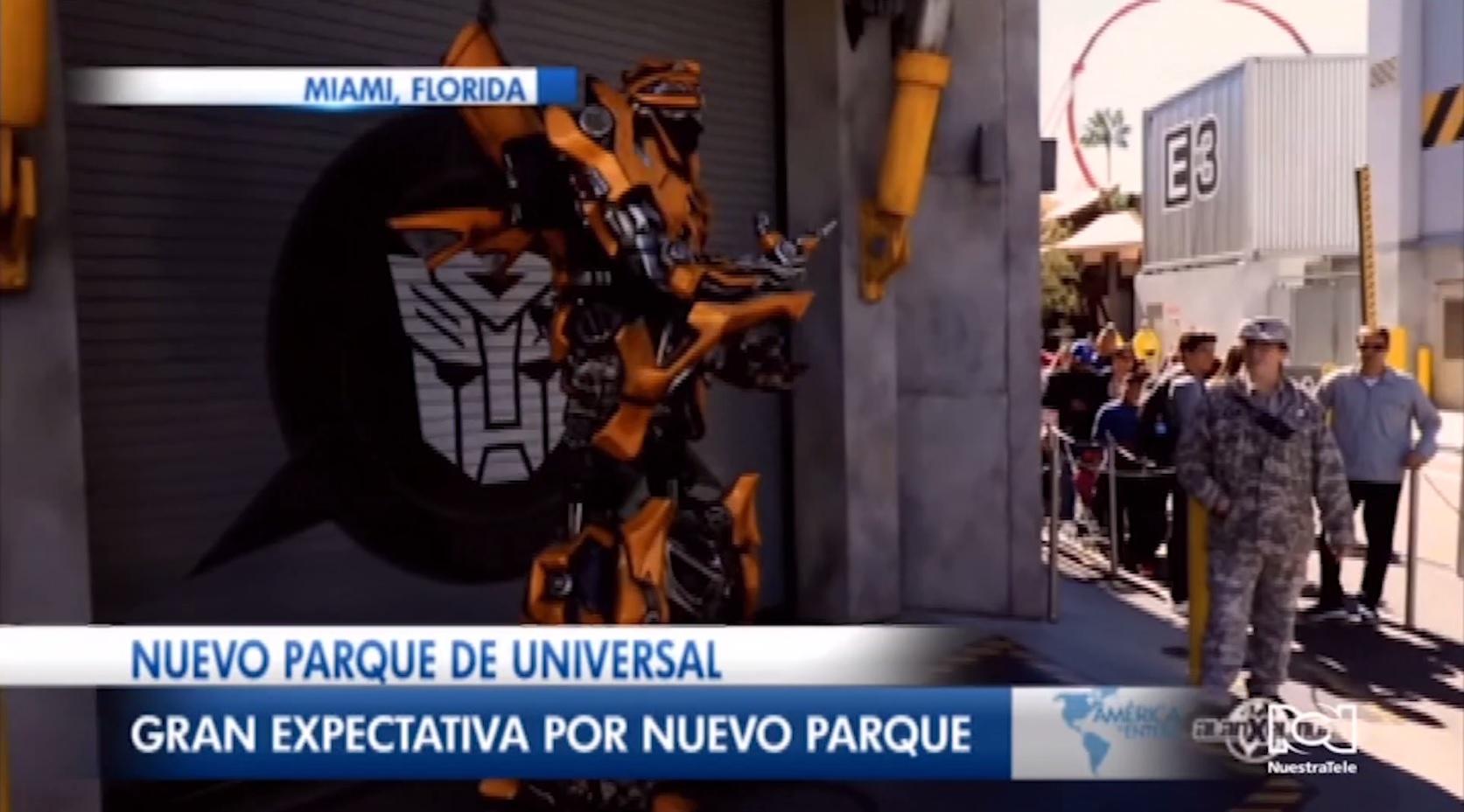 Nuevo parque de Universal Studios