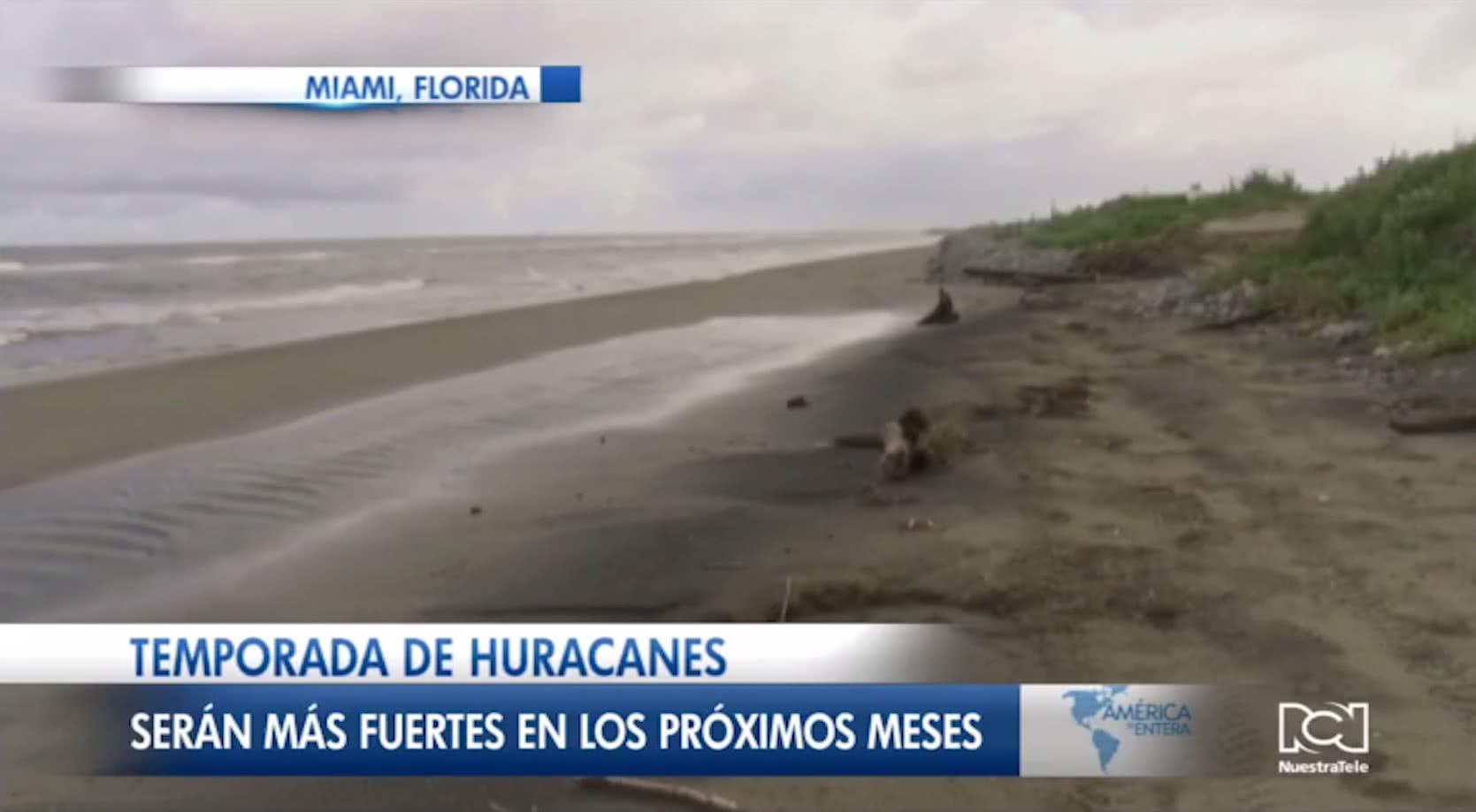 Aumentará la intensidad de la temporada de huracanes en el Atlántico