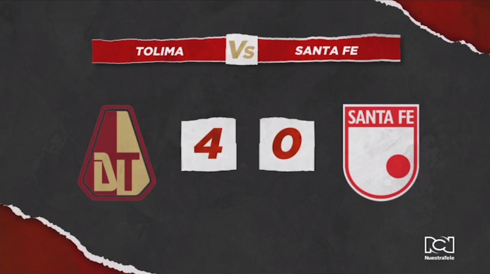 Tolima Vs Santa Fe