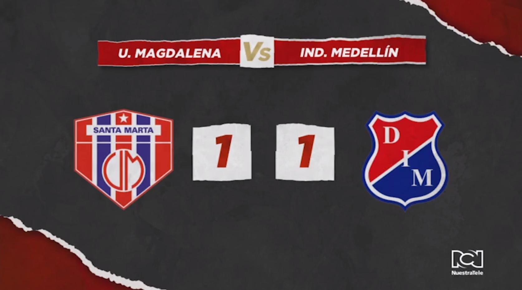 Unión Magdalena Vs Independiente Medellin