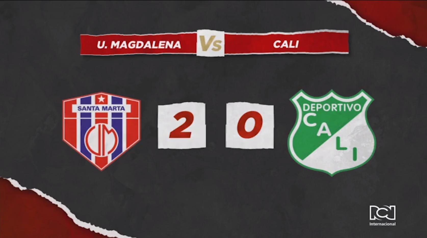 Unión Magdalena Vs Deportivo Cali