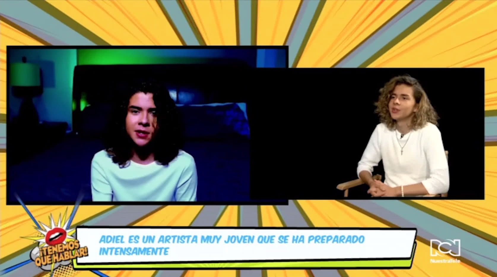 Adiel Torres sacrificó tiempo de su niñez para cumplir su sueño de ser cantante
