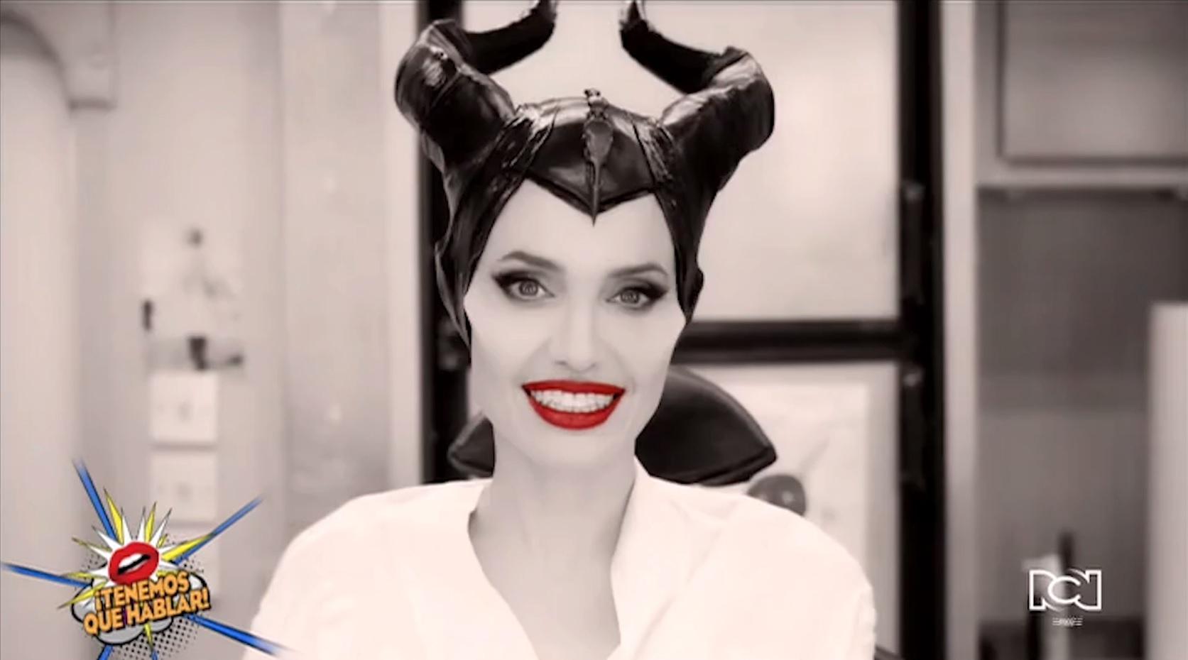 Walt Disney Pictures muestra en video el proceso de maquillaje para convertir a Angelina Jolie en Malefica