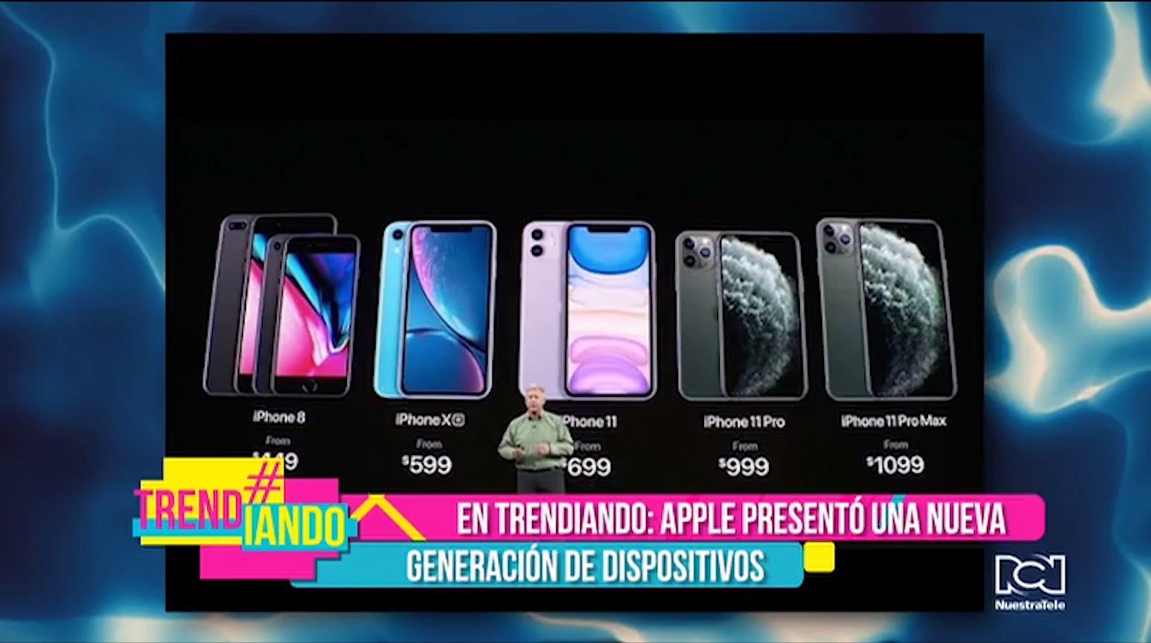 Apple presentó su nueva generación de dispositivos móviles con el iPhone 11