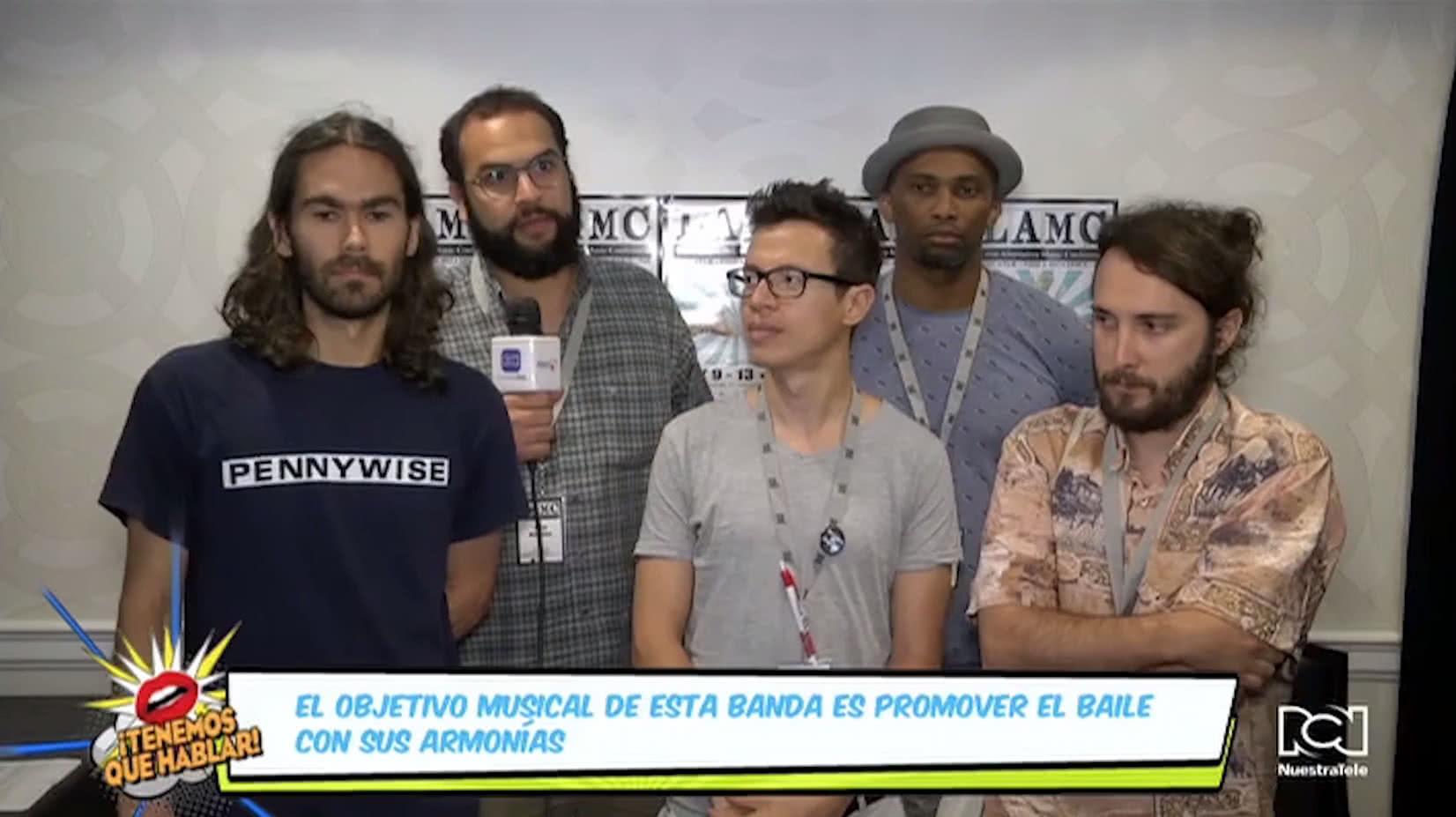 'Candeleros' puso la cuota de psicodelia en el showcase 'Sonidos de España' de LAMC