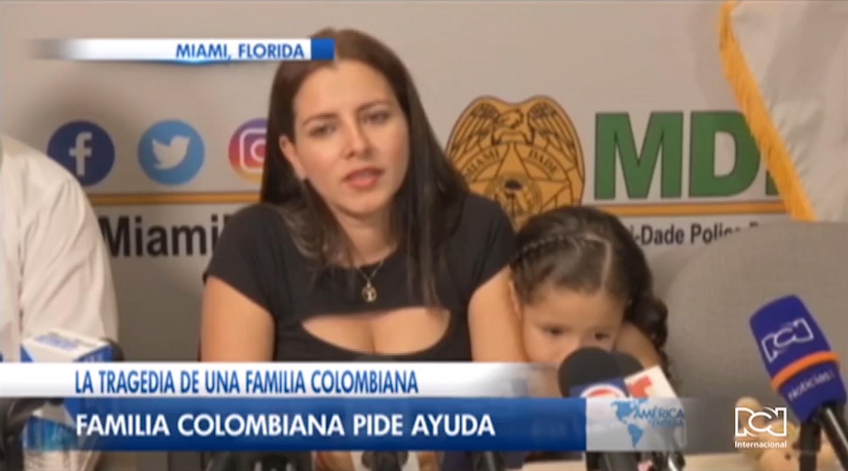 Familia del colombiano que murió atropellado en Miami por un conductor que se dio a la fuga pide justicia