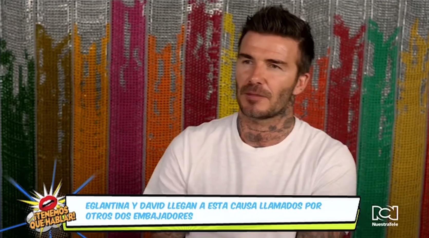 Eglantina Zingg y David Beckham son los nuevos embajadores de #ToGetherBand