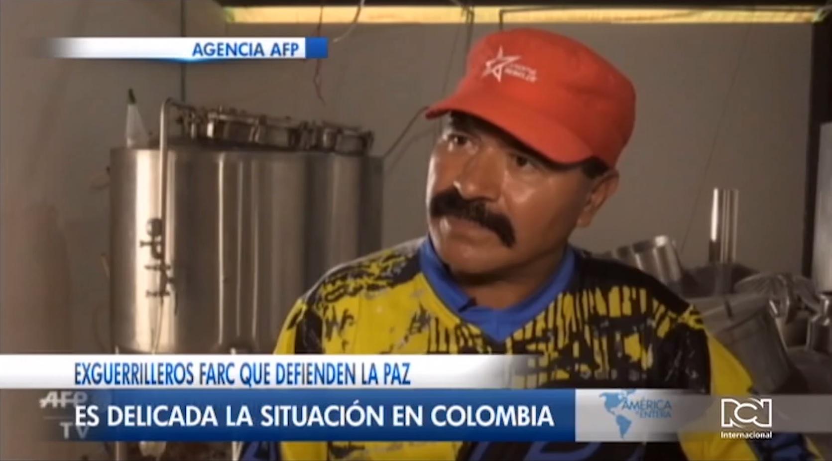 Desmovilizados de las FARC insisten en que apoyan el proceso de paz