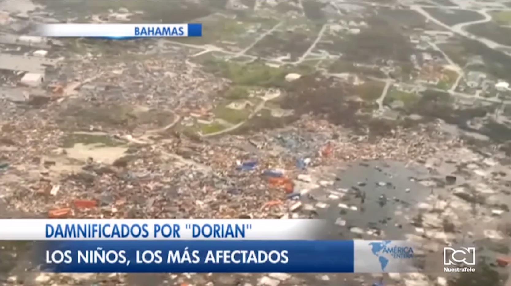 Huracán Humberto complica las tareas de reconstrucción en Bahamas