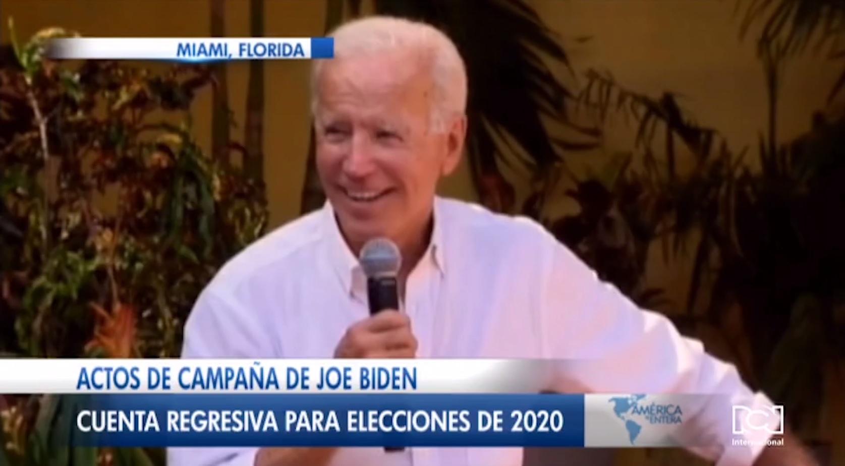 Joe Biden promete TPS para venezolanos si llega a la Casa Blanca