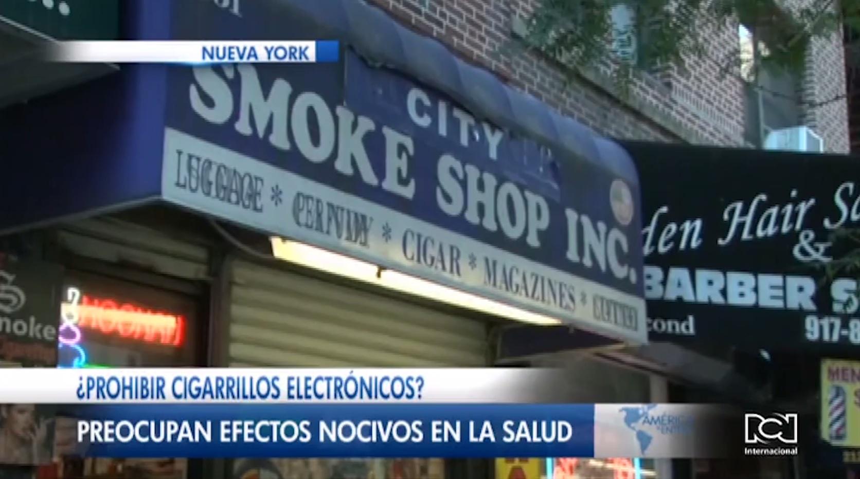 Nueva York da plazo a comerciantes para retirar los cigarrillos electrónicos del mercado