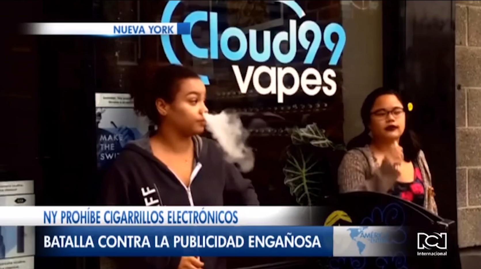 Nueva York prohíbe la venta y distribución de cigarrillos electrónicos