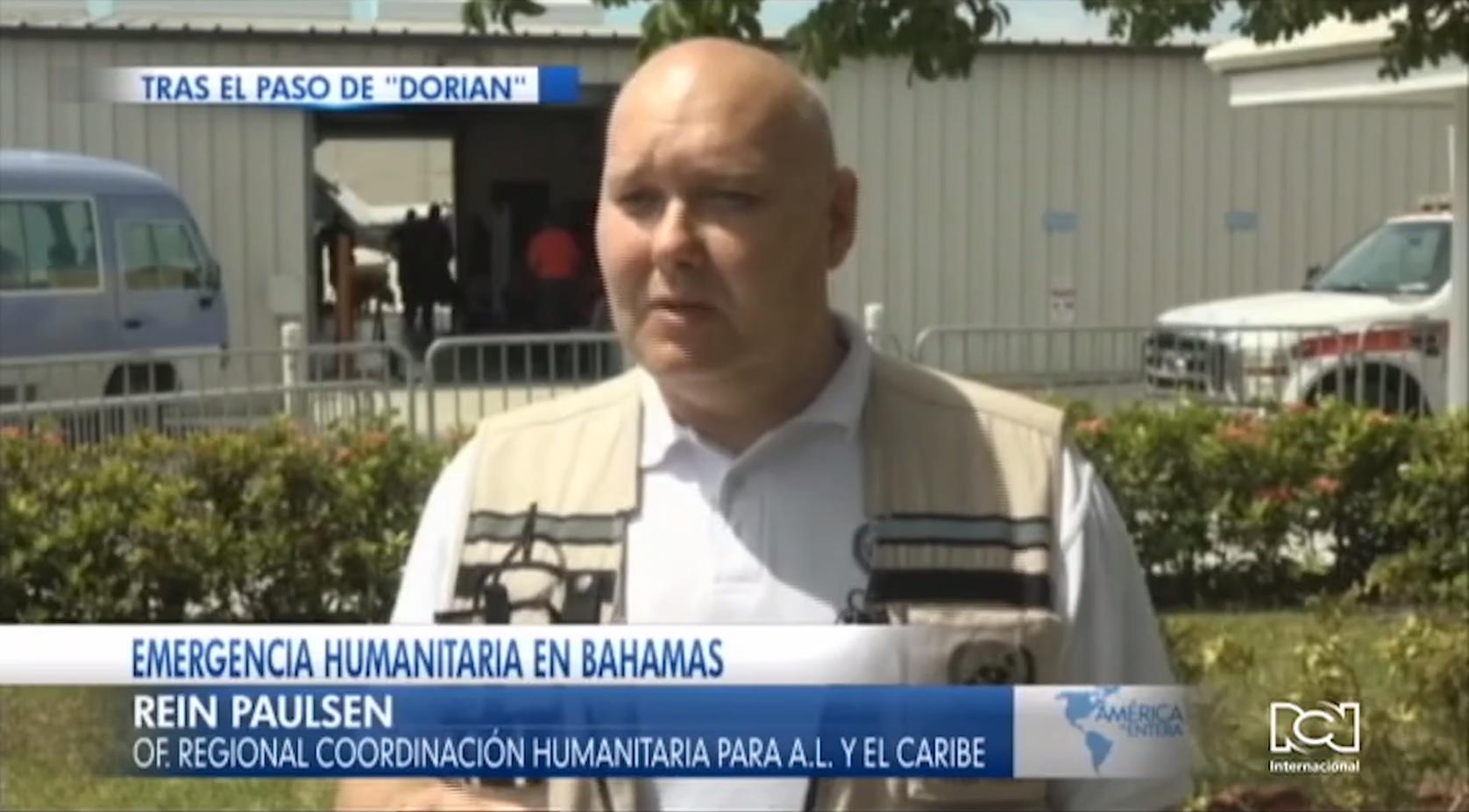 ONU inició la entrega de ayuda humanitaria tras el paso de Dorian por Bahamas