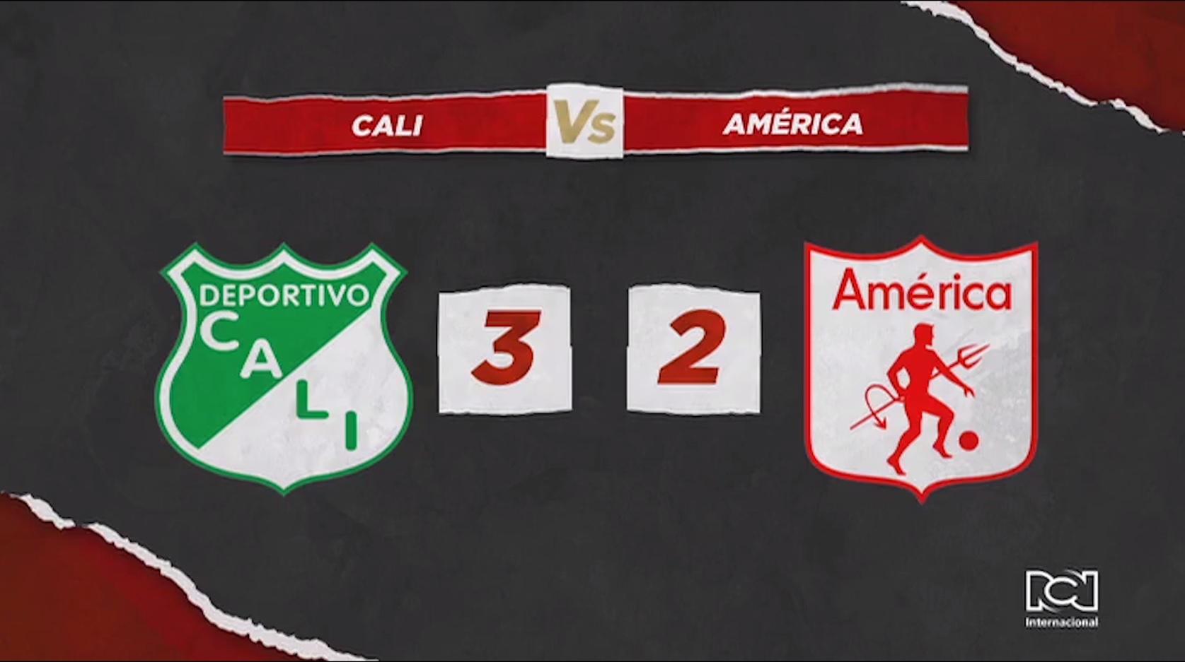 Deportivo Cali Vs América
