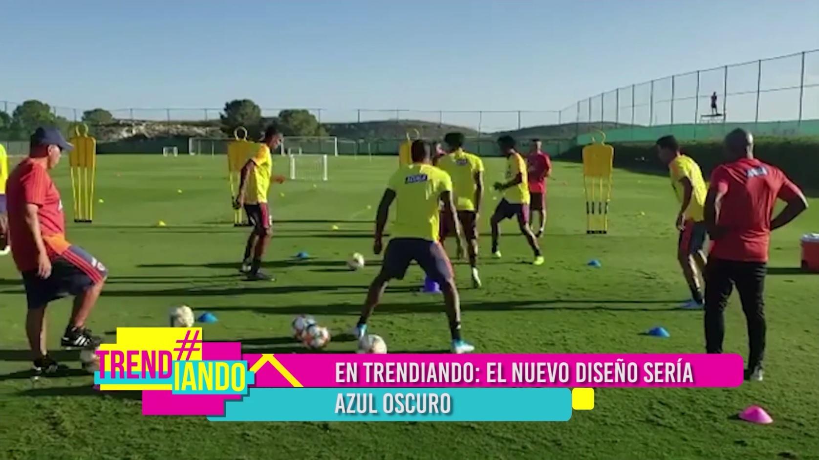 Selección Colombia de Fútbol estrenaría nueva indumentaria en la Copa América 2020