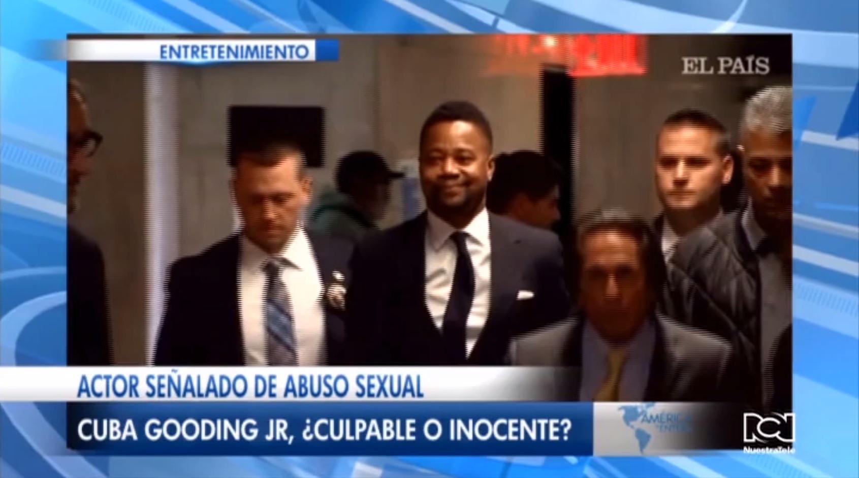 Segunda mujer acusó a Cuba Gooding Jr. de comportamiento sexual inadecuado